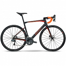 Велосипед шоссе BMC Roadmachine RM01 Ultegra Di2 3T Discus C35 Team Stealth Carbon Sunrise / 2017
