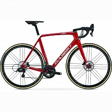 Велосипед шоссе Basso Diamante Disc Dura-Ace Di2 Bora WTO 45 Disc CL (rubin red)