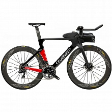 Велосипед шоссе Wilier Turbine Crono Ultegra Di2 Disc Cosmic Elite (black-red) / 2019