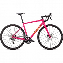 Велосипед гравел Specialized Diverge E5 Comp 105 Axis Sport Disc (розовый-желтый)