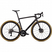 Велосипед шоссе Specialized S-Works Tarmac SL6 Disc Dura-Ace Di2 Roval CLX 50 (серый-черный)
