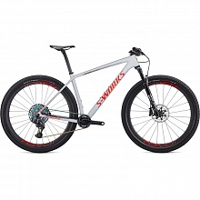 Велосипед MTB Specialized S-Works Epic Hardtail XX1 Eagle AXS Roval Control SL (серый-красный)