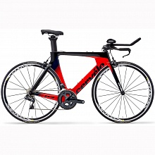 Велосипед шоссе Cervelo P3 Ultegra Di2 Cosmic Elite (Black Red Navy)